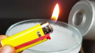 Download Science Experiment: LIQUID NITROGEN vs LIGHTER Video