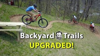 Download Backyard MTB Trails with ″Sicknic Table″ - Berm Creek Upgrades Video