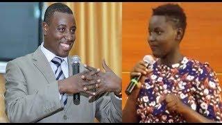 Download Umukobwa w'ikizungerezi wavuye ikuzimu yamennye amabanga yose ya Satani imbere ya Gitwaza Video