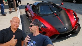 Download Eating Pizza with Christian von Koenigsegg Video