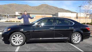 Download Here's Why the Lexus LS600hL Is the Ultimate Lexus Luxury Sedan Video