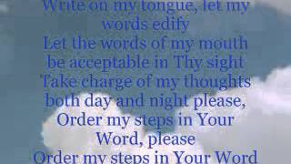 Download ORDER MY STEPS IN YOUR WORD - YouTube.flv Video