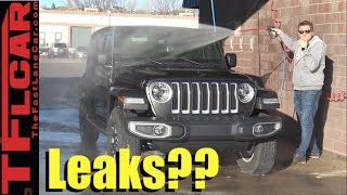 Download Does it Leak? We Demo and Pressure Test the 2018 Jeep Wrangler's New Panoramic Top Video
