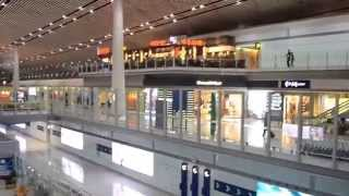 Download Inside Beijing Airport, China Video