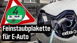 Download Realer Irrsinn: Elektro-Auto braucht in Leipzig Feinstaubplakette   extra 3   NDR Video