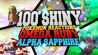 Download 100 EPIC SHINY POKEMON REACTIONS! Pokemon Omega Ruby & Alpha Sapphire Shiny Montage Video