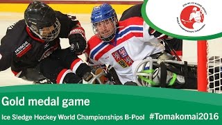 Download Gold medal game| 2016 Ice Sledge Hockey World Championships B-Pool, Tomakomai Video