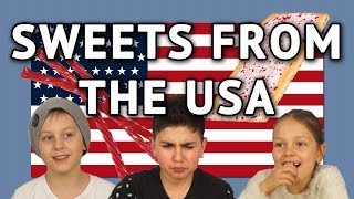 Download German Kids try Sweets from the USA Video