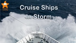 Download Cruise Ships in Stormy Seas HD @CruisesAndTravels Video