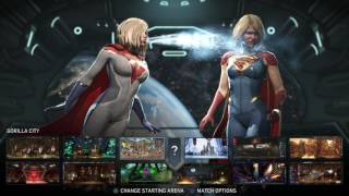 Download Injustice 2 | Power Girl vs Supergirl | 1080p60 Video