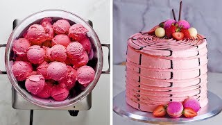 Download 3 yummy flavors, 3 clever hacks, one ultimate Neapolitan cake! by So Yummy Video