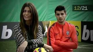 """Download Alvaro Morata: """"La Juventus ha conquistato la prima stella nel… """". Video"""