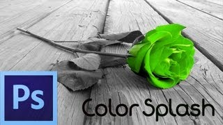 Download Photoshop CS6 Tutorial: Color Splash Effect (For Beginners) Video