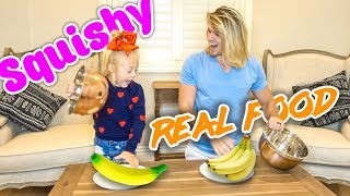 Download EXTREME SQUISHY FOOD VS REAL FOOD!!! (Kids vs. Adults) Video