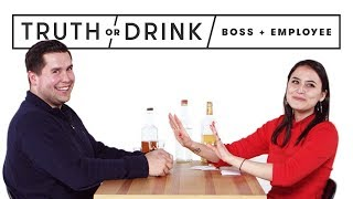 Download My Boss & I Play Truth or Drink | Truth or Drink | Cut Video