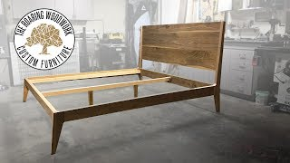 Download Making A Mid Century Modern King Size Bed in Walnut Video