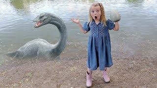 Download We Found a HUGE Monster Egg at a Pond! Video