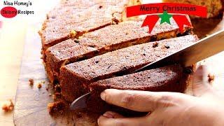 Download Instant/No Soak - Christmas Fruit Cake Recipe - Kerala Plum Cake - Without Alcohol | Skinny Recipes Video