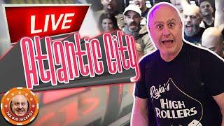 Download 🔴 LIVE Back In Atlantic City HIGH LIMIT Slot Jackpots! 🎰 Video