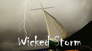 Download Sailing into Monster Storm   Ships Heavy Weather Insights Sailing Aulani Aloha Video