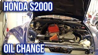 Download Honda S2000 Oil Change Tutorial Video