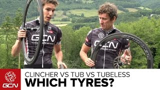 Download Clinchers Vs Tubulars Vs Tubeless – Which Tyres Should You Choose For Your Road Bike & Why? Video