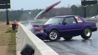 Download When MUSTANGS ATTACK! INSANE Drag Racing Crashes Video