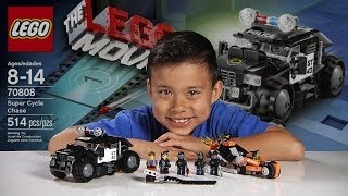 Download SUPER CYCLE CHASE - LEGO MOVIE Set 70808 - Time-lapse Build, Stop Motion, Unboxing & Review! Video