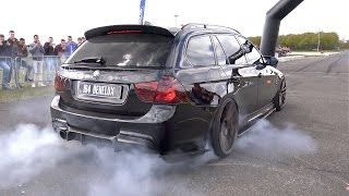 Download 900HP BMW 335i (E91) - CRAZY REVS & BURNOUT! Video