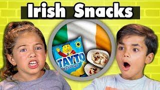 Download KIDS EAT IRISH SNACKS | Kids Vs. Food Video