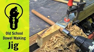 Download Old School Dowel Making Jig Video