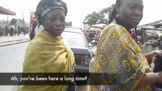 Download Titilayo Oyinbo at an Ibadan Market Video