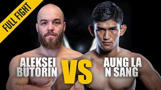 Download ONE: Best Fights | Aleksei Butorin vs. Aung La N Sang | N Sang wins via Stoppage | Jul 2016 Video