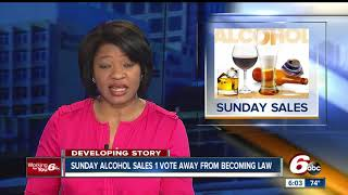 Download Hoosiers could be buying alcohol on Sundays soon Video