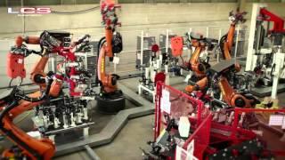 Download Linea automatica Kuka Robot Video