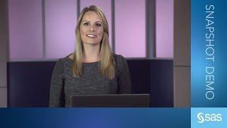 Download SAS Demo   SAS Visual Text Analytics Demo (Version 8.4) Video