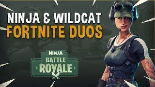 Download Ninja & WildCat Insane Duos! - Fortnite Battle Royale Gameplay Video