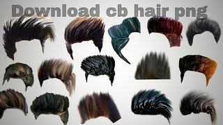 Download How to download CB editz hair png ... Video