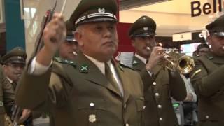 Download Mira el divertido flashmob que realizó Carabineros en el mall Marina Arauco Video
