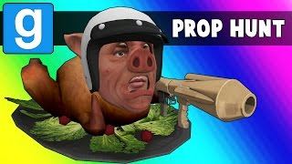 Download Gmod Prop Hunt Funny Moments - MC Wildcat! (Garry's Mod) Video