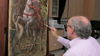Download Conserving Crivelli's Saint George Slaying the Dragon Video