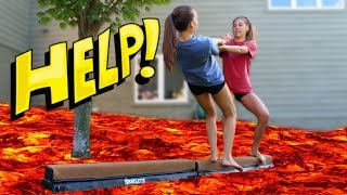 Download Gymnasts Play The Floor is Lava! Video