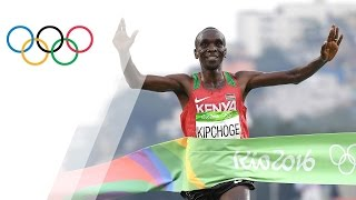 Download Eliud Kipchoge wins Men's Marathon gold Video