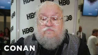 Download What People Watched Instead Of The Impeachment Trial: George R.R. Martin Edition - CONAN on TBS Video