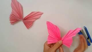 Download Kağıttan Kelebek Yapımı Origami Video