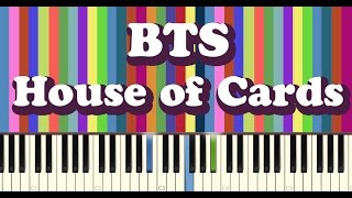 Download BTS(방탄소년단) - House of Cards - piano cover Video