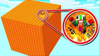 Download SURVIVING ON A GIANT LAVA BLOCK! Video