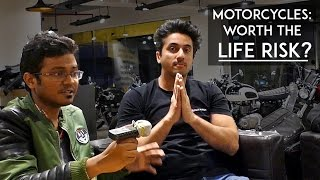 Download Mumbiker Nikhil | Motorcycles: Worth the life Risk? | Ft. Fuzz rides | RWR Video
