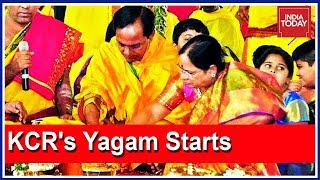 Download KCR's 5-Day 'Yagam' For Prosperity Ahead Of 2019 Polls Begins Today Video
