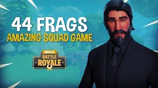 Download Amazing 44 Frag Duo Squad Game!! - Fortnite Battle Royale Gameplay - Ninja & SypherPK Video